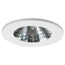 Nora NHID-4T615W - Faceted Specular Clear Reflector, White Ring, 15� Beam Spread