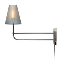 Sonneman 1961.35 - One Light Nickel Wall Light