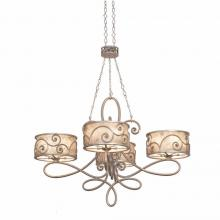 Kalco 5412SV - Windsor 20 Light Chandelier