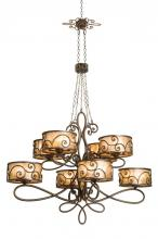 Kalco 5413AC - Windsor 40 Light Chandelier