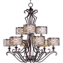 Maxim 21156WHUB - Mondrian 9-Light Chandelier