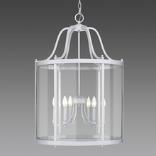 Golden 1157-6P WH - 6 Light Pendant