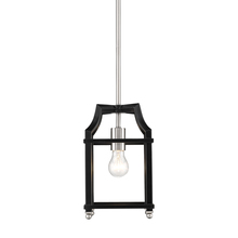 Golden 8401-M1L PW-BLK - Mini Pendant
