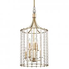 Hudson Valley 9318-AGB - 8 Light Pendant