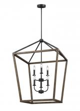 Feiss F3192/6WOW/AF - 6 - Light Chandelier