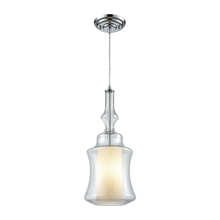 ELK Lighting 56501/1 - Alora 1 Light Pendant In Polished Chrome With Op