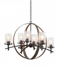 Kalco 7098VI - Irvine 8 Light Chandelier