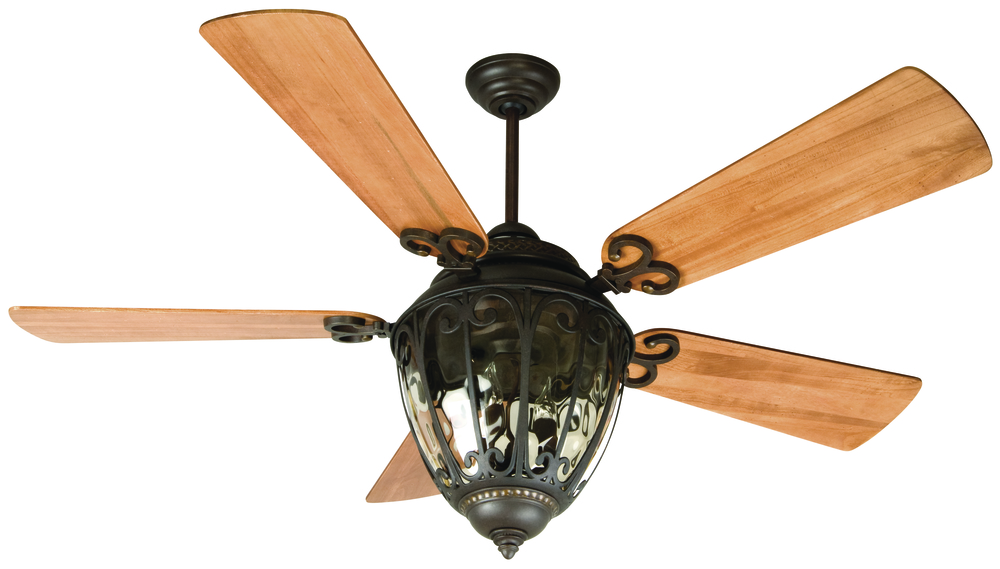 "Olivier 70"" Ceiling Fan Kit with Light Kit in Aged Bronze Textured"