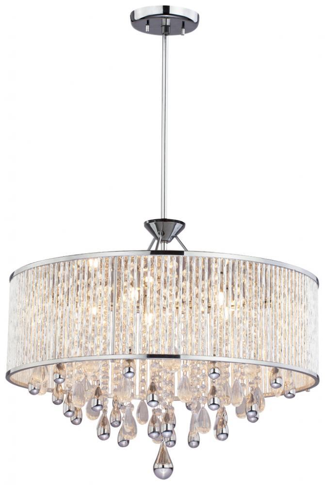 drum shade pendant chandelier  chandeliers design, Lighting ideas