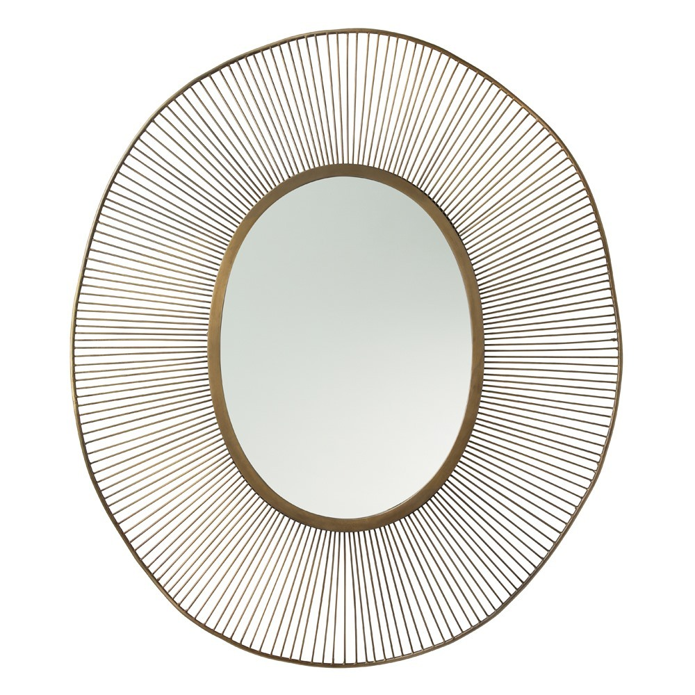 Olympia Oval Mirror
