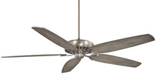 "Minka-Aire F539-BNK - Great Room Traditional 72"" - Burnished Nickel"