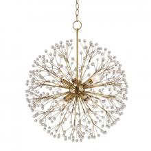 Hudson Valley 6020-AGB - 8 Light Chandelier